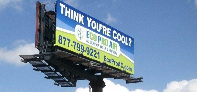 Eco Pro Billboard Sign